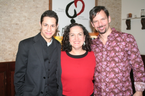 David Del Rio, Olga Merediz and Rick Negron