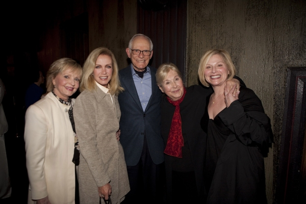 Florence Henderson, Donna Mills, Alan & Marilyn Bergman, Roslyn Kind at The Actors Fund's 3/15 Installment Of Musical Mondays