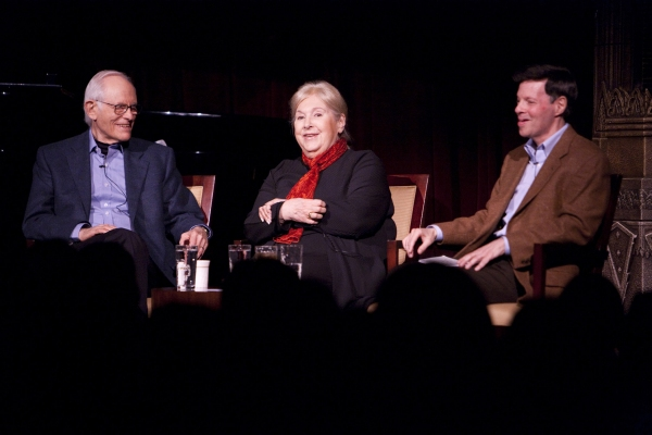 Alan Bergman, Marilyn Bergman, Michael A. Kerker at The Actors Fund's 3/15 Installment Of Musical Mondays