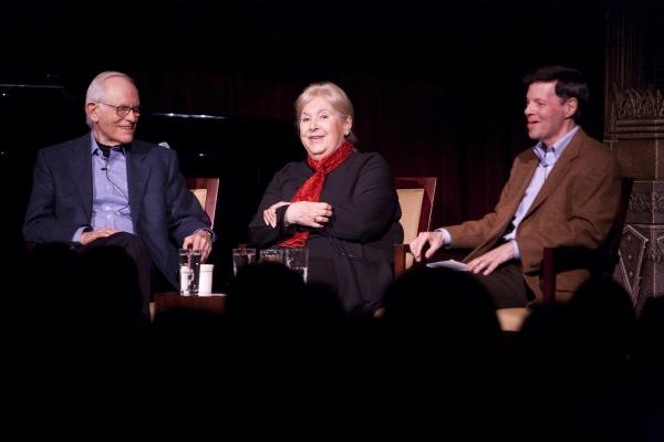 Alan Bergman, Marilyn Bergman, Michael A. Kerker at The Actors Fund's 3/15 Installment Of Musical Mondays