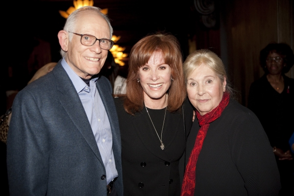 Alan Bergman, Stefanie Powers, Marilyn Bergman at The Actors Fund's 3/15 Installment Of Musical Mondays