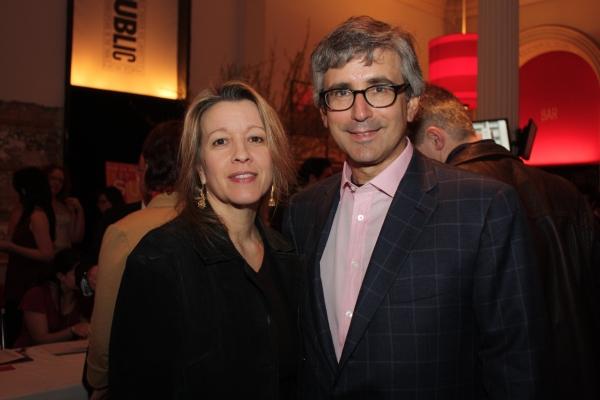 Linda Emond and Warren Spector