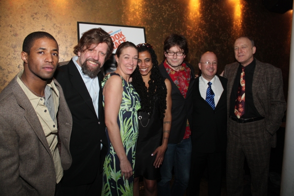 Amari Cheatom, Oskar Eustis, Elizabeth Marvel, Suzan-Lori Parks, James Macdonald, Andrew D. Hamingson, and John Doman