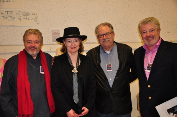 Bill Whelan, Joan Bergin, Robert Pallagh, John McColgan Photo