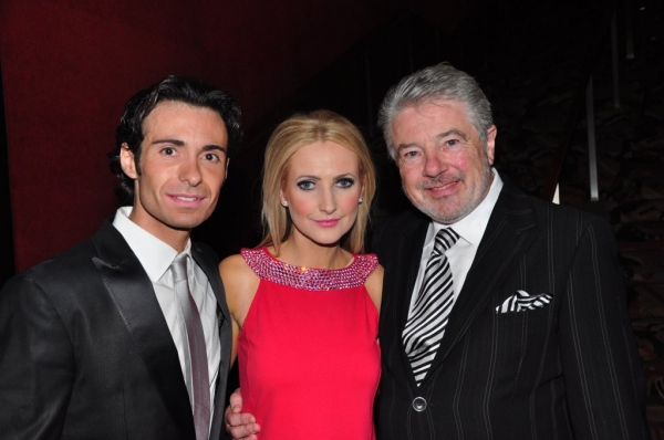 Padraic Moyles, Niamh O'Connor, John McColgan Photo