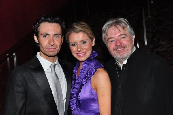Padraic Moyles, Melissa Convery, and Bill Whelan