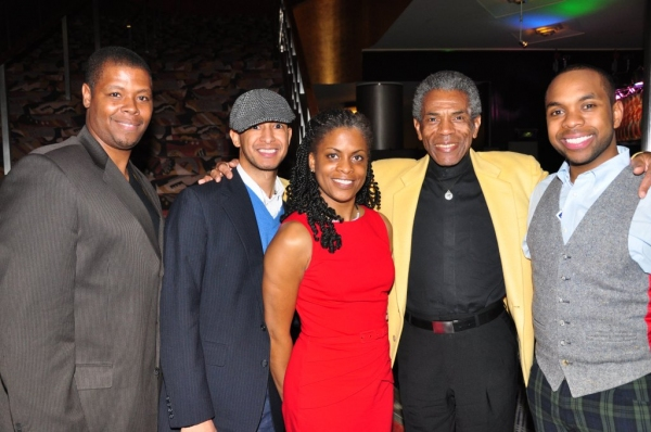 Troy Blackwell-Cook, Kelly Isaac, Karen Calloway William, Andre de Shields, Jason E. Bernard
