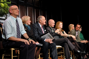 Tom Viola, Jane Powell, George S. Irving, Michael Cerveris, Kate Baldwin, Michael Riedel
