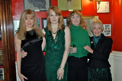 Diane Stilwell Weinberg, Kate Baldwin, Charlotte Moore and Jane Powell