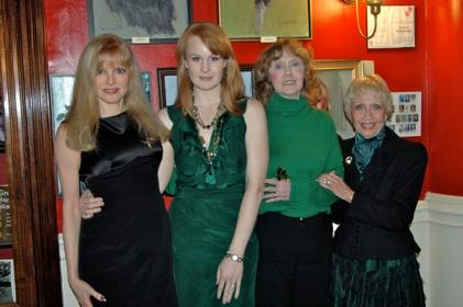 Diane Stilwell Weinberg, Kate Baldwin, Charlotte Moore and Jane Powell