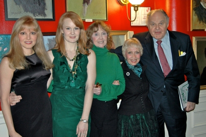 Diane Stilwell Weinberg, Kate Baldwin, Charlotte Moore , Jane Powell and George S. Irving