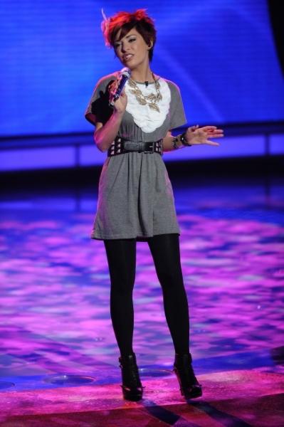 Photo Flash: AMERICAN IDOL's Top 11; David Cook & Ke$ha Perform!