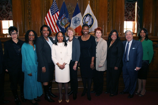 Elizabeth Streb, Brenda M. Greene, Pd.D., Tracie Williams, Deputy BP Graham, Betty Kahn, Elwanda Young, Barbara Winslow, Iris Jimenez-Hernandez, BP Markowitz, Yolande Matthew - Vice President and Manager, Citi.