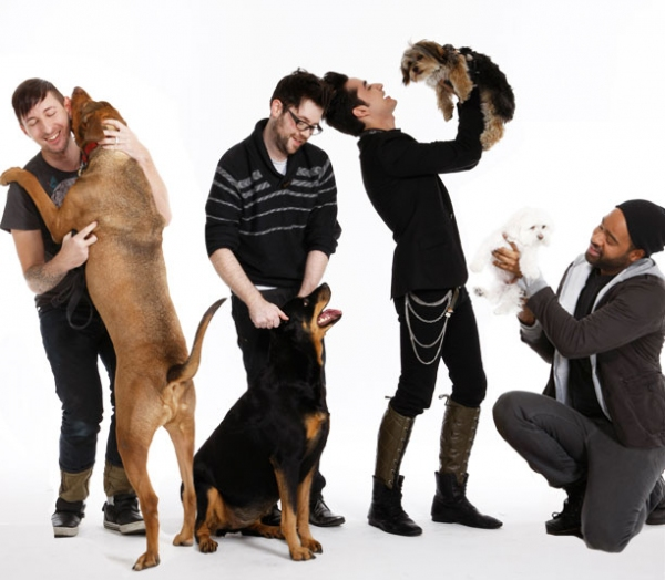 Photo Flash: Out.com Photo Shoot with Broadway Dogs