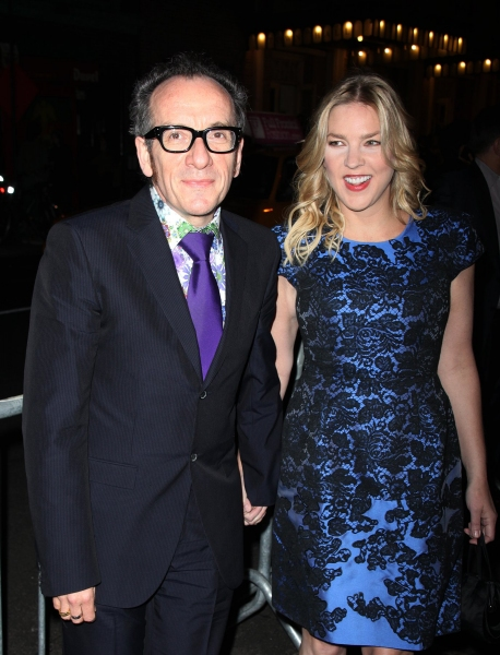 Elvis Costello & Diana Krall at ALL ABOUT ME Red Carpet