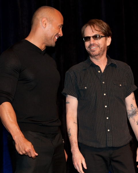 Dwayne Johnson and Billy Bob Thornton