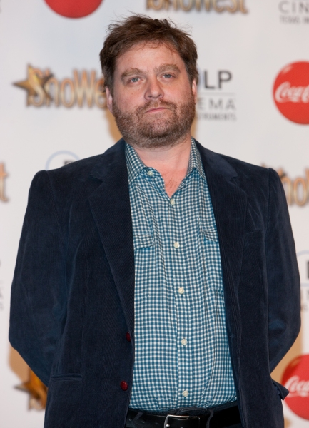 Zach Galifianakis  at Photos: ShoWest Special - Heigl, Hudgens, Seyfried & More Honored at Awards Banquet