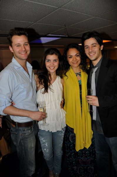 Matthew Hydzik, Josefina Scaglione, Karen Olivo, George Akram Photo