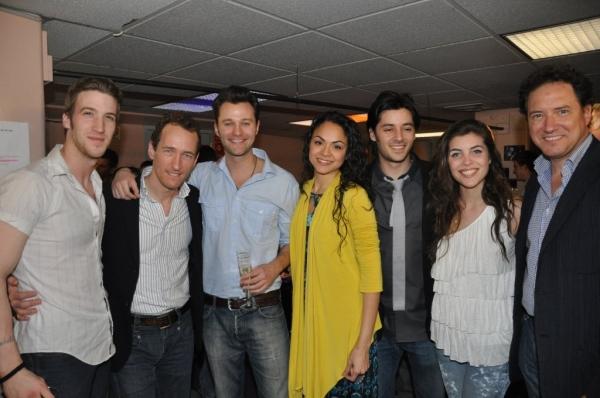 John Arthur Greene, Jeffrey Seller, Matthew Hydzik, Karen Olivo, George Akram, Josefi Photo
