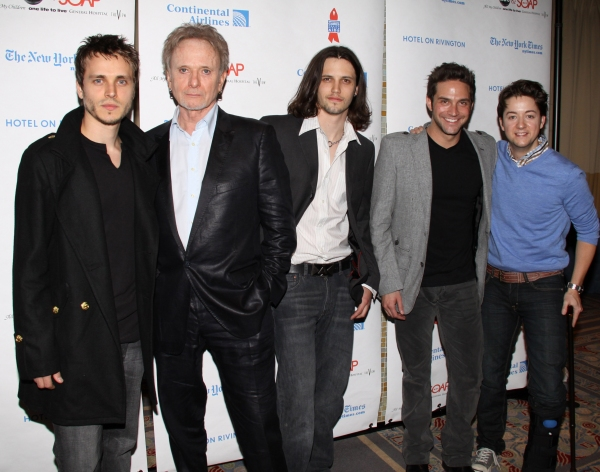 Jonathan Jackson, Anthony Geary, Nathan Parsons, Brandon Barash and Bradford Anderson at ABC Daytime and SOAPNet Salute BC/EFA