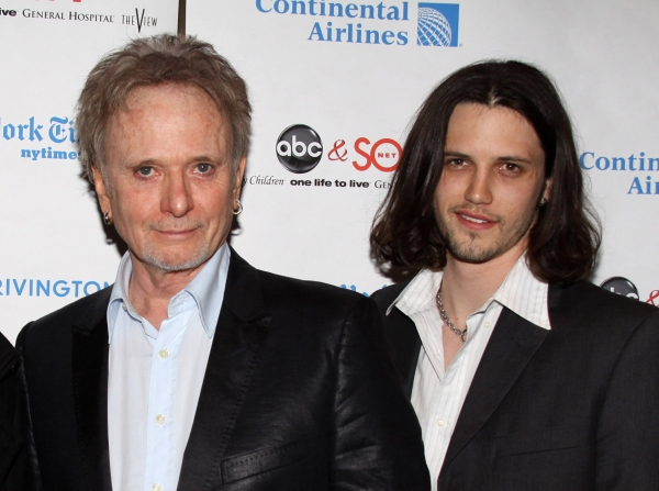 Anthony Geary and Nathan Parsons