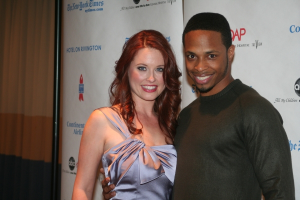 Melissa Archer and Cornelious Smith Jr.