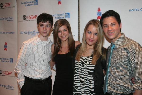 Eddie Alderson, Kelley Missal, Kristen Alderson and Jason Tam
