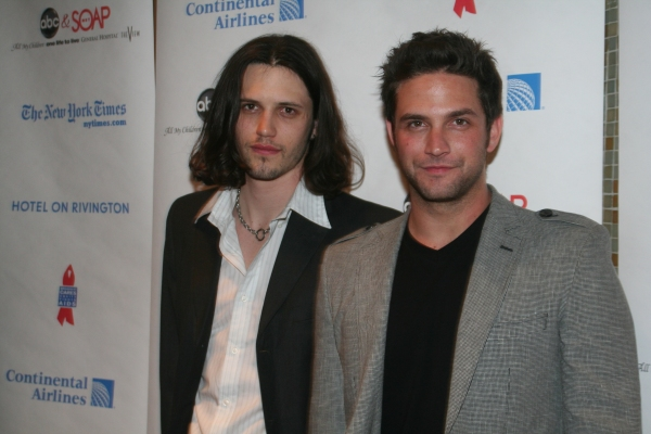 Nathan Parsons and Brandon Parash