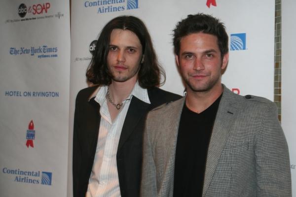 Nathan Parsons and Brandon Parash
