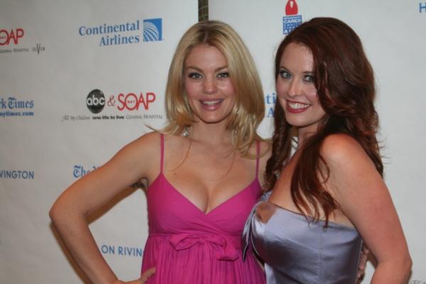 Bree Williamson and Melissa Archer