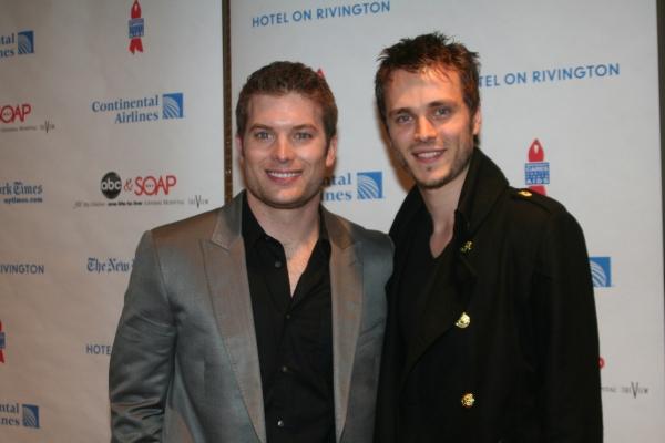 Mark Lawson and Jonathan Jackson at ABC Daytime and SOAPNet Salute BC/EFA