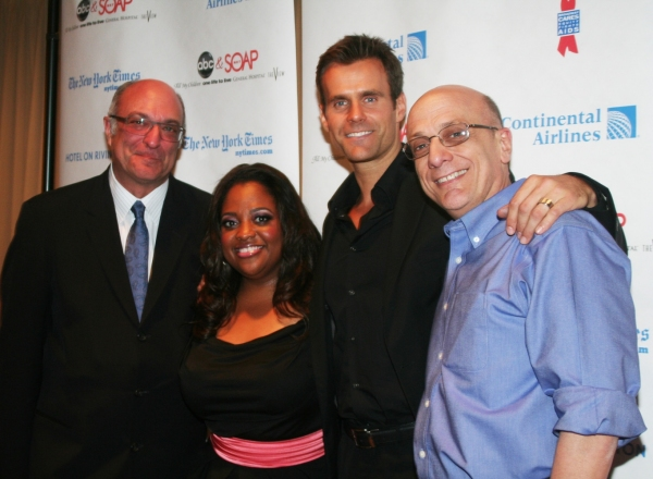 President, Daytime, Disney-ABC Television Group Brian Frons, Sherri Shepard, Cameron  Photo