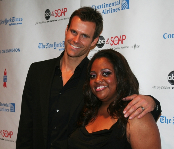 Host Cameron Mathison and Sherri Shepard Photo