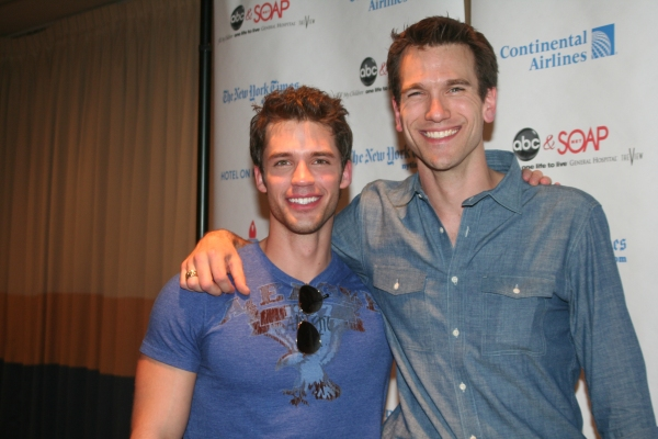 David Gregory and Adam Mayfield Photo