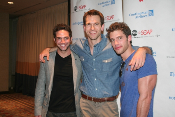 Brandon Barash, Adam Mayfield and David Gregory at ABC Daytime and SOAPNet Salute BC/EFA
