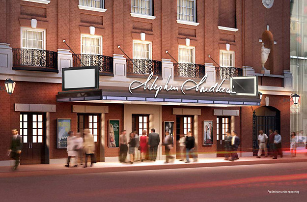 The Stephen Sondheim Theater - Roundabout will rename Henry Miller Theater the Stephen Sondheim Theater