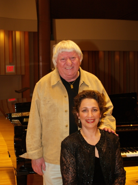 Ben Lanzarone and Dr. Iris Levine