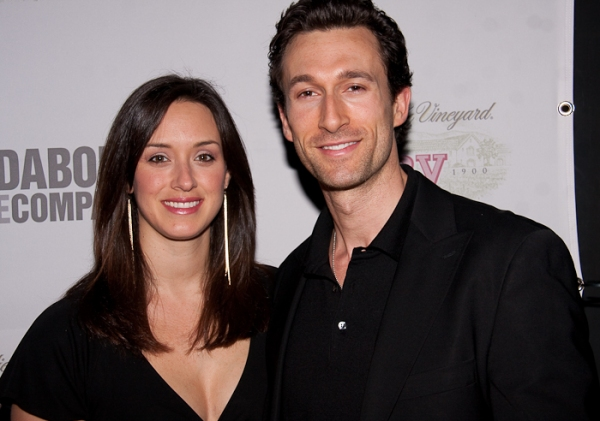 Aaron Lazar and Leann Lazar