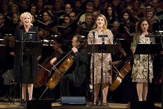 Christine Ebersole, Victoria Clark, Elizabeth Futral