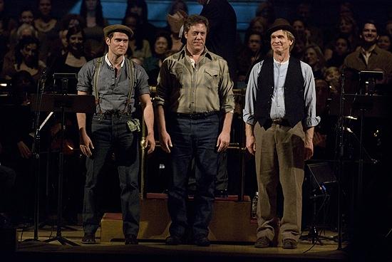 Steven Pasquale, Peter Halverson, Anthony Dean Griffey