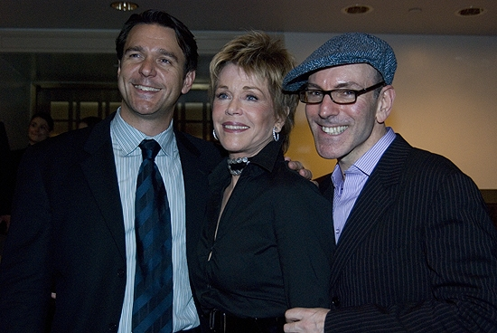 Nathan Gunn, Jane Fonda, and Ricky Ian Gordon
