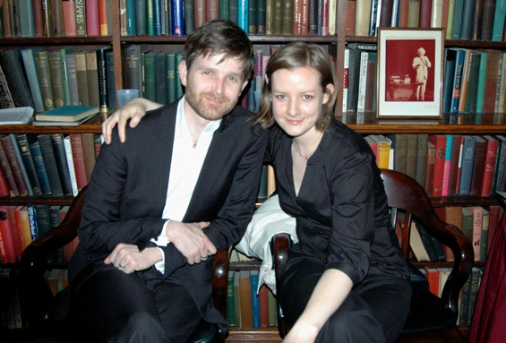 Simon Kendall and Liz Morton