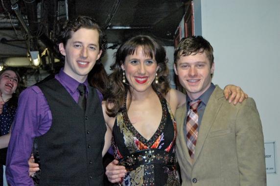 Josh Grisetti, Farah Alvin and Bobby Steggert