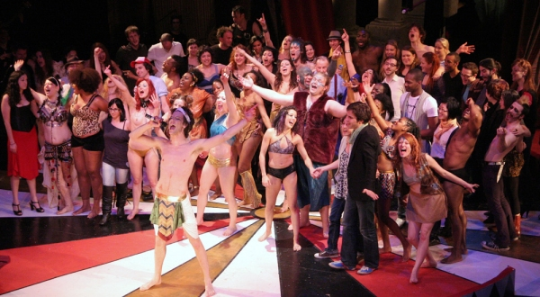 Photo Flash: Opening Night Of CALIGULA MAXIMUS at the Ellen Stewart Theatre