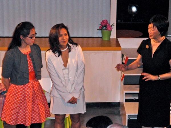 Lauren Yee, May Adrales, Tisa Chang