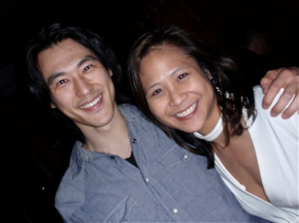 James Chen, May Adrales at CHING CHING CHINAMAN Opening Night At The West End Theatre