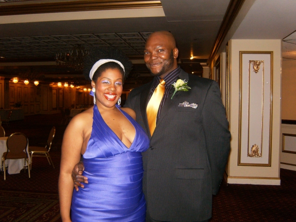 Karen Marie Richardson and Dwelvan David