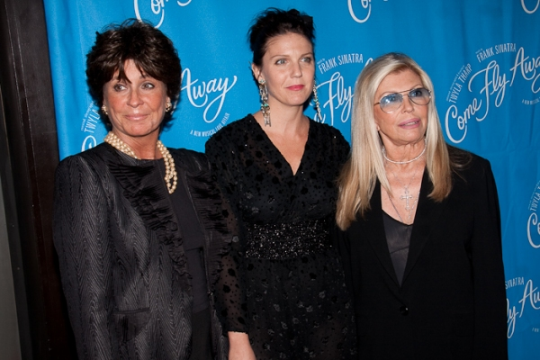 Tina Sinatra, AJ Azzarto, Nancy Sinatra at Twyla Tharp's COME FLY AWAY Opens on Broadway!