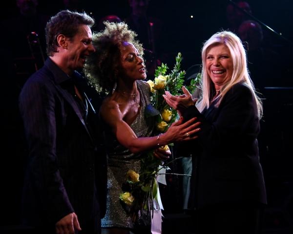 Keith Roberts, Karine Plantadit, and Nancy Sinatra