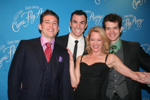 Eric Otto, Justin Peck, Carolyn Doherty and Todd Burnsed